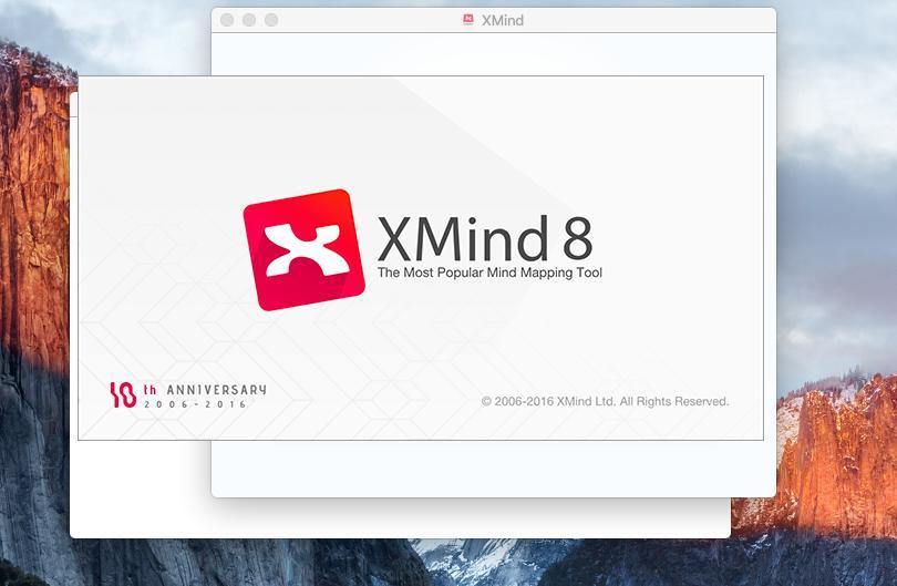R002-XMind 8 思维导图脑图软件结构树状逻辑图破解版软件